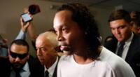Ronaldinho cumplirá arresto domiciliario en un hotel en Asunción.