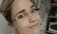 La joven enfermera compartió en Facebook el conmovedor gesto.