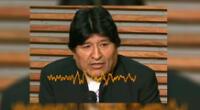 """""""La vida no puede ser una mercancía"""", indicó Evo Morales."""