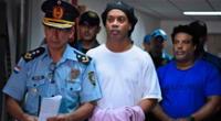 Ronaldinho aún desconoce cuándo será puesto en libertad.