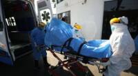 Anciano fallecido presuntamente a causa del coronavirus.