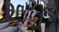 Hincha de Alianza Lima dona sangre para salvar vidas.