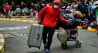 Venezolanos afectados por el coronavirus en el Perú
