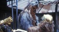 McNamara reemplazó a Peter Mayhew en el papel de Chewbacca.