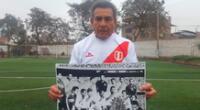 Se suman las muestras de solidaridad para Héctor Chumpitaz.