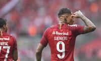 Guerrero entre los históricos del fútbol brasileño.