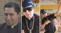 El sacerdote se ha convertido en un personaje viral en las redes sociales.