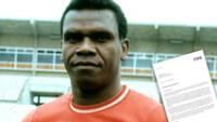 Lee la carta de la FIFA dedicada a Perico León, leyenda del fútbol mundial.