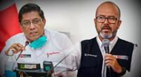 Premier Zeballos negó que se esté evaluando la salida del ministro de Salud en medio de la cuarentena.