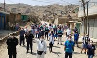 La solidaridad de Alianza Lima y la Municipalidad de Lima para apoyar zonas vulnerables.