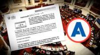 Proyecto de ley indica que ejercer ambos cargos implica un conflicto de interés  y una  injerencia del Ejecutivo en el Congreso de la República.