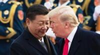 Xi Jinping, presidente de China y Donald Trump, presidente de Estados Unidos.