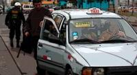 Ley de taxi colectivo