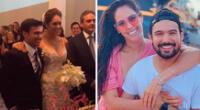 Karen Schwarz y Ezio Oliva celebran 4 años de matrimonio.