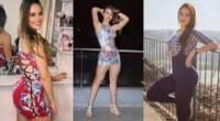 Jossmery Toledo alborota redes sociales con sexys ejercicios que hace desde su casa por cuarentena.
