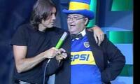 Humorista argentino 'Larry De Clay' recordó a los jugadores peruanos que jugaron  por Boca.