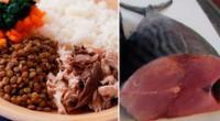 La carne negra del pescado es una gran fuente de hierro.
