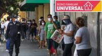 Bono universal familiar: Link para beneficiarios del bono 760 soles