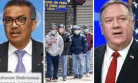 Estados Unidos culpa a China y a la OMS por el coronavirus.
