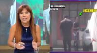 Jossmery Toledo es nuevamente ampayada por las cámaras de Magaly TV La Firme cuando compraba aceite para su vehículo en SJL.