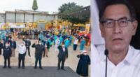 Martín Vizcarra comparte estrategias para combatir el coronavirus en el Perú.