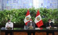 Martín Vizcarra hoy desde Palacio de Gobierno da nuevas medidas para frenar el contagio de COVID-19 en el territorio peruano en el día 71 del estado de emergencia.