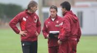 Ricardo Gareca y su comando técnico aguardan por el reinicio de los entrenamientos.