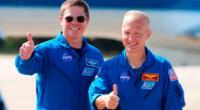 Astronautas partirán hoy en vuelo comercial al espacio.