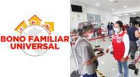Conoce el ENLACE de la plataforma del bono familiar universal