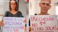 Figuras de la TV en contra del maltrato hacia la mujer.