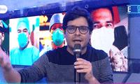 Gian Piero Díaz se molesta con juez de EEG.