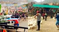 Saquean un almacén de pollos en Carabayllo