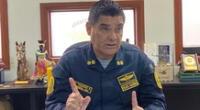 El director de la Aviación Policial, general PNP Alfredo Vildoso rechazó acusaciones sobre mascarillas en malas condiciones