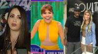 La presentadora de Magaly TV La Firme incomódo a Karla Tarazona, pero finalmente terminó riéndose por la inesperada pregunta.