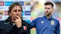 Uno de los grandes sueños de Gareca es dirigir la selección Argentina con el  número '1' del mundo.