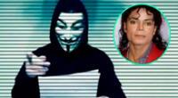 Anonymous revela audio sobre la muerte de Michael Jackson que estaría vinculado al gobierno de Estados Unidos.