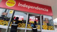 Supermercados incumplían normas sanitarias