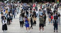 Manifestantes salieron a la calle en ciudades como Lisboa, Oporto, Braga, Viseu y Coimbra.