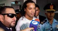 Ronaldinho cumple detención en lujoso hotel.