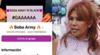Beba Army responde a las burlas de Magaly Medina hackeando la cuenta oficial de Claro Perú.