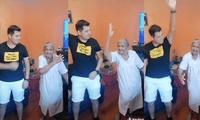 Abuelita baila con su nieto en reto de TikTok y termina robándose el show