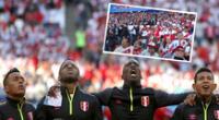 Himno Nacional de Perú en el Mundial Rusia 2018