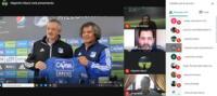 Liga 1 tuvo conversatorio de marketing.