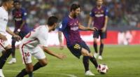 Sigue todas las incidencias del Barcelona vs. Sevilla por El Popular.