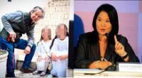Keiko envía saludo a Alberto Fujimori en el Día del Padre