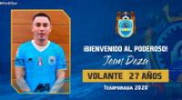 Jean Deza jugará en Binacional.