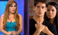 """Lady Guillén salió a apoyar nuevamente a Mayra Couto y aseguró que Andrés Wiese """"estaba actuando"""" durante su entrevista con Aldo Miyashiro."""