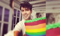 """Bruno Pinasco celebró el """"Día del Orgullo Gay"""" con un mensaje de amor en redes sociales, y no pudo dejar de responder a sus detractores."""