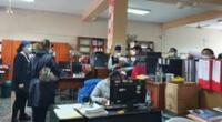 Realizan intervención en la Municipalidad de Chorrillos.