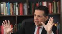 """Omar Chehade pide al presidente Martín Vizcarra """"que no se meta con el Congreso""""."""